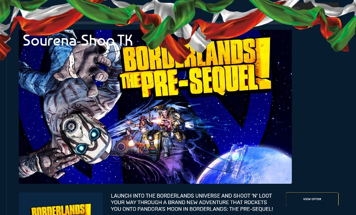 Borderlands The Pre-sequel! (درون اکانت)