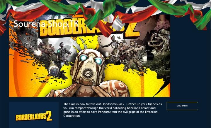 Borderlands 2 (درون اکانت)
