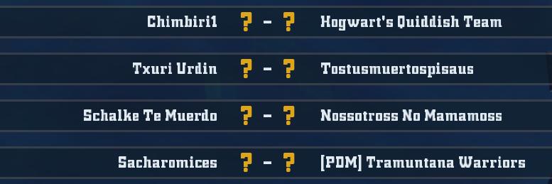 Campeonato Piel de Minotauro 11 - Grupo 4 - Jornada 2 hasta el 01 de Noviembre Unknown