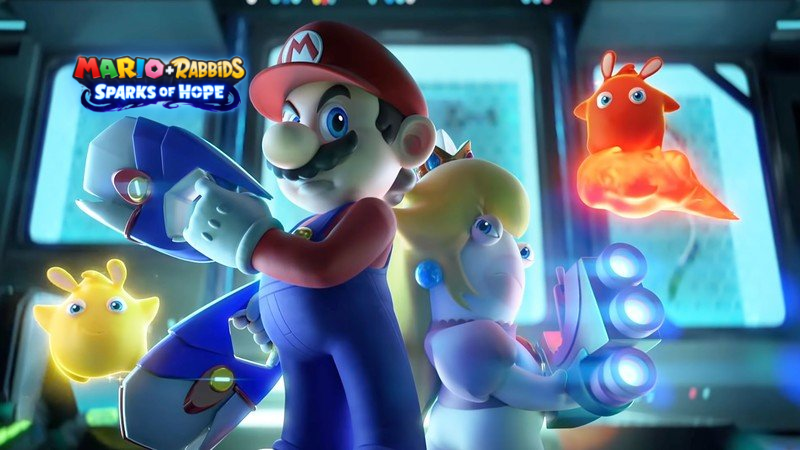Mario Rabbits Sparks of Hope