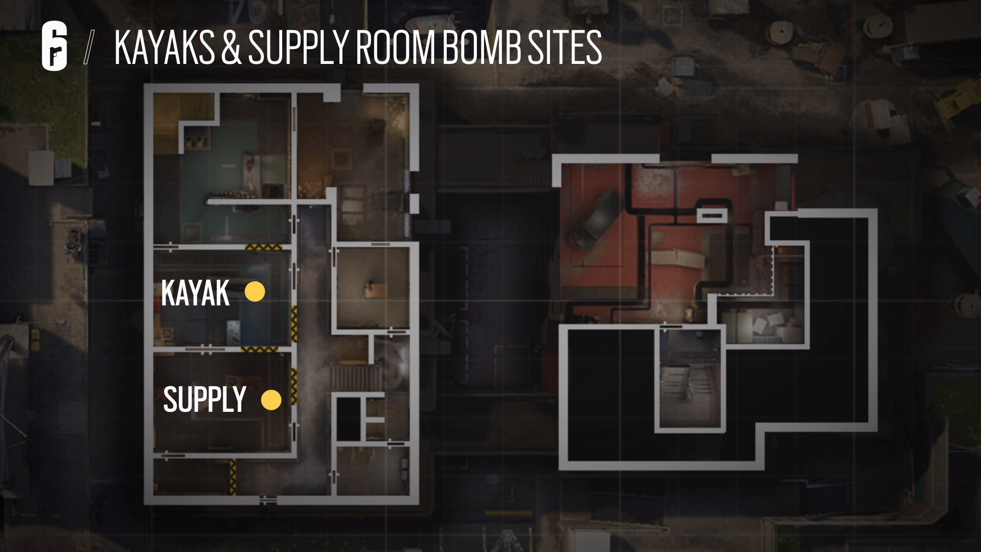 Three maps cut from Rainbow Six Siege's ranked map pool