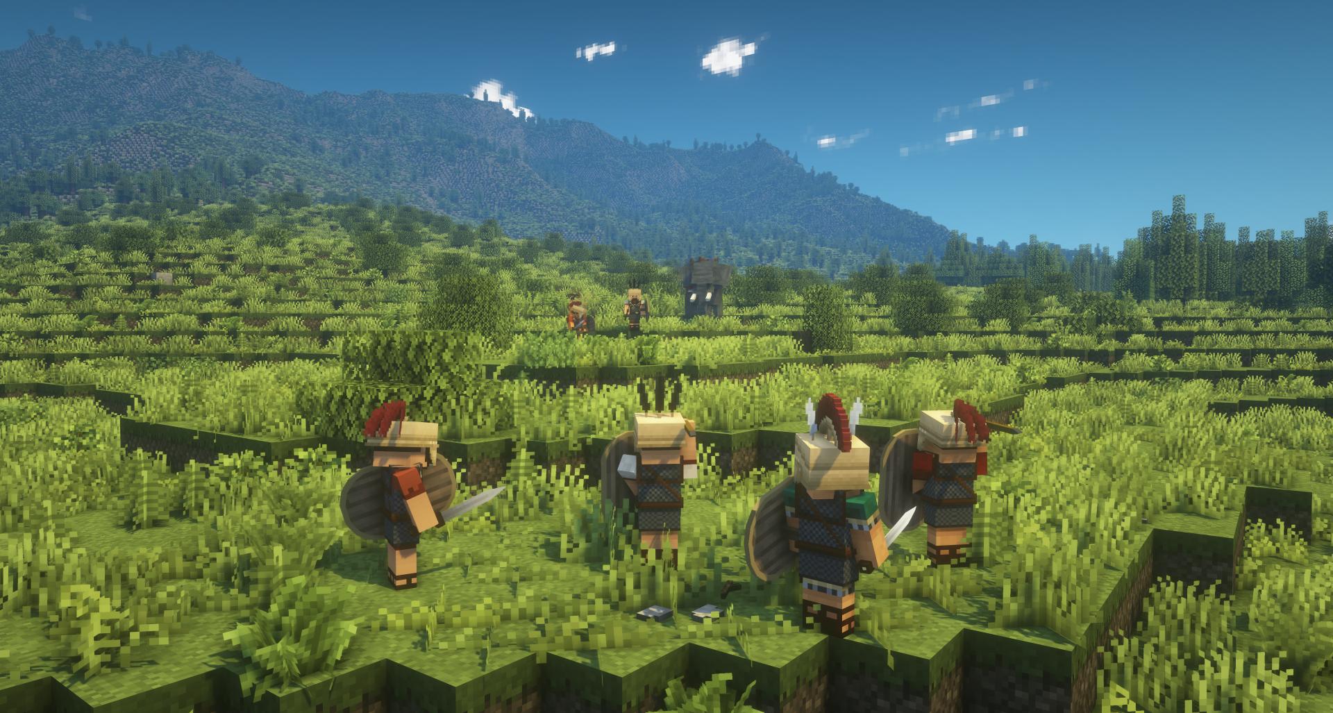 Antiqua Italia Devblog 4: Gladiators, elephants, and builds