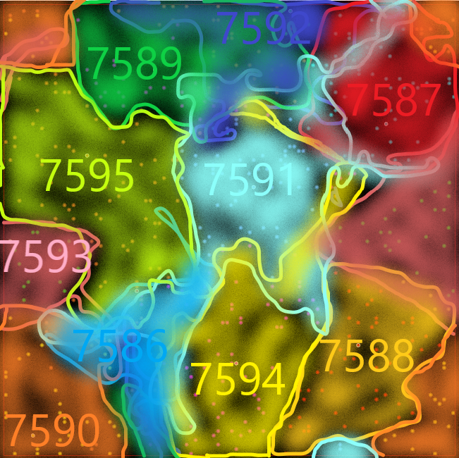 T426 Galaxy Map