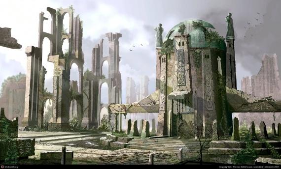 [Lieu] La Lande d'Eru et les ruines de l'Ordre Maudit City-thomas-white