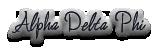 Alpha Delta Phi (ΑΔΦ)
