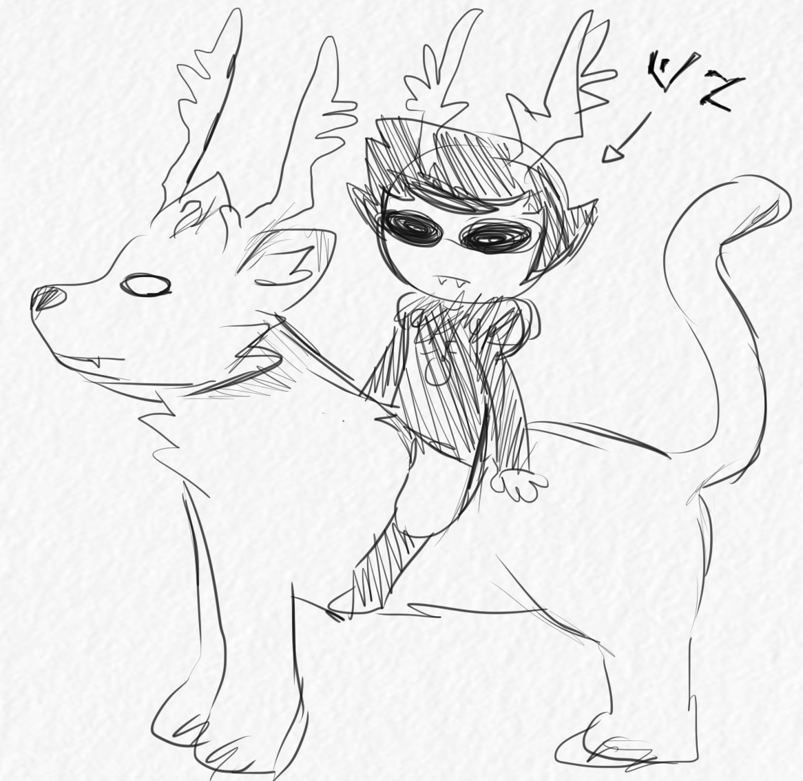Dammek's drawing