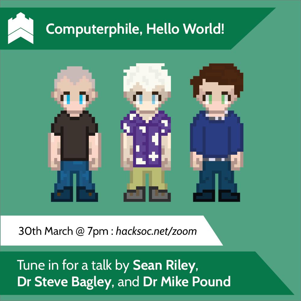 Computerphile, Hello World!