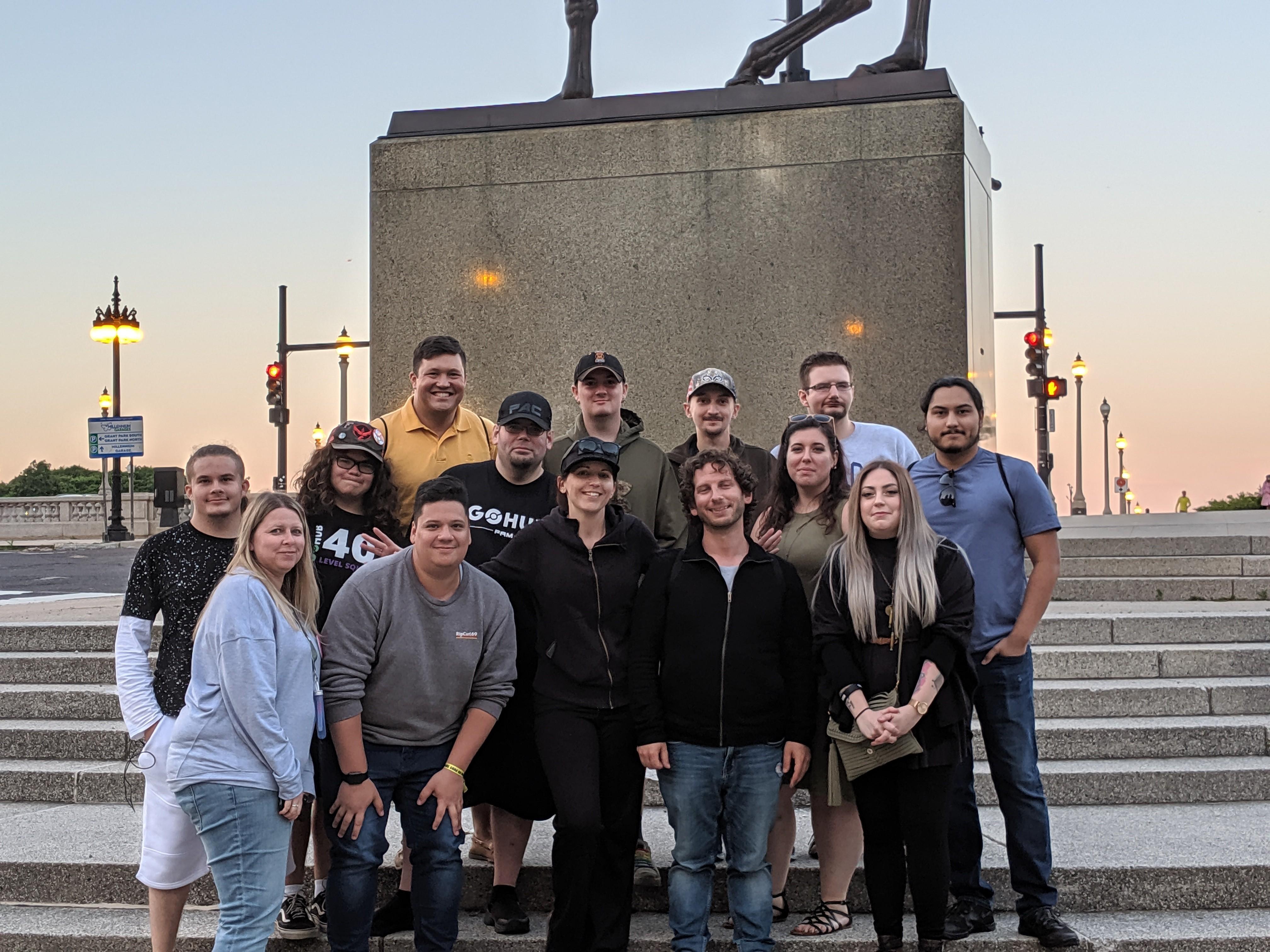 The GO Hub Team
