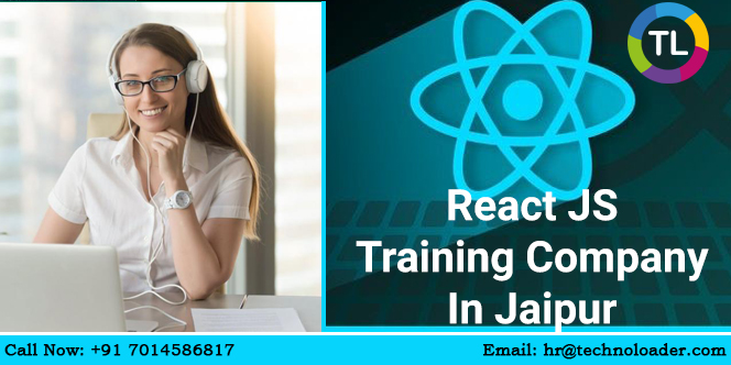 To become a maven in ReactJS, join the best IT training company in Jaipur. Technoloader helps you get the best results through live projects.