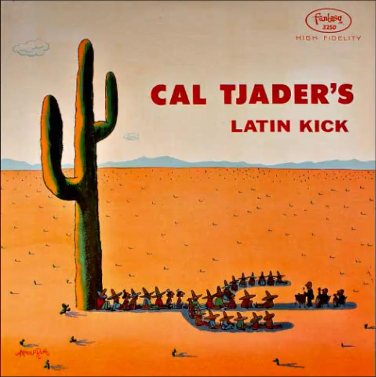 Cal Tjader - Latin Kick (1958) Full vinyl LP