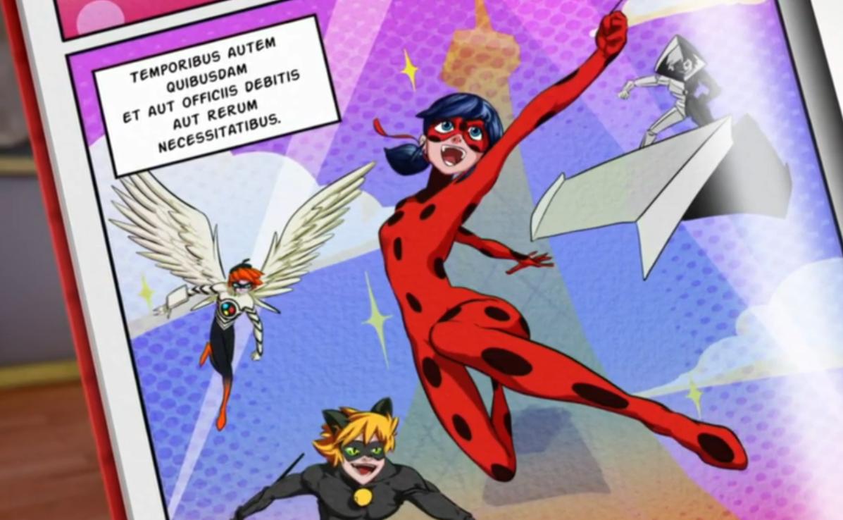 Comic Miraculous Ladybug