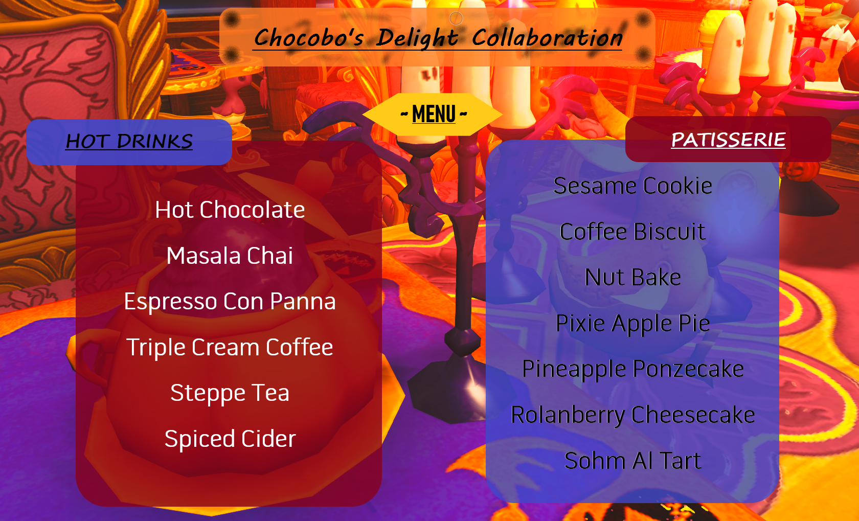 Chocobos_Delight_Menu.png