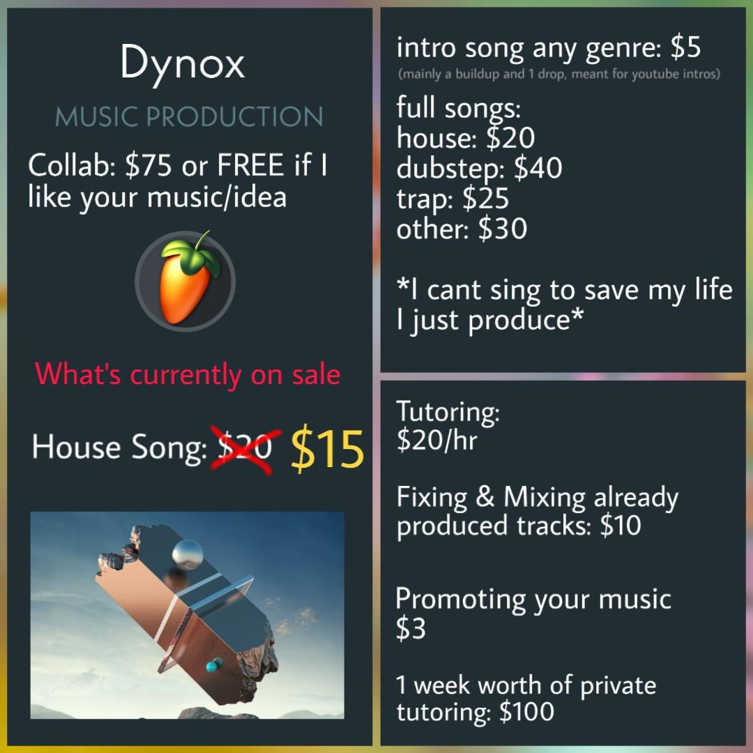 [Discord-Musician]: Dynox#0001