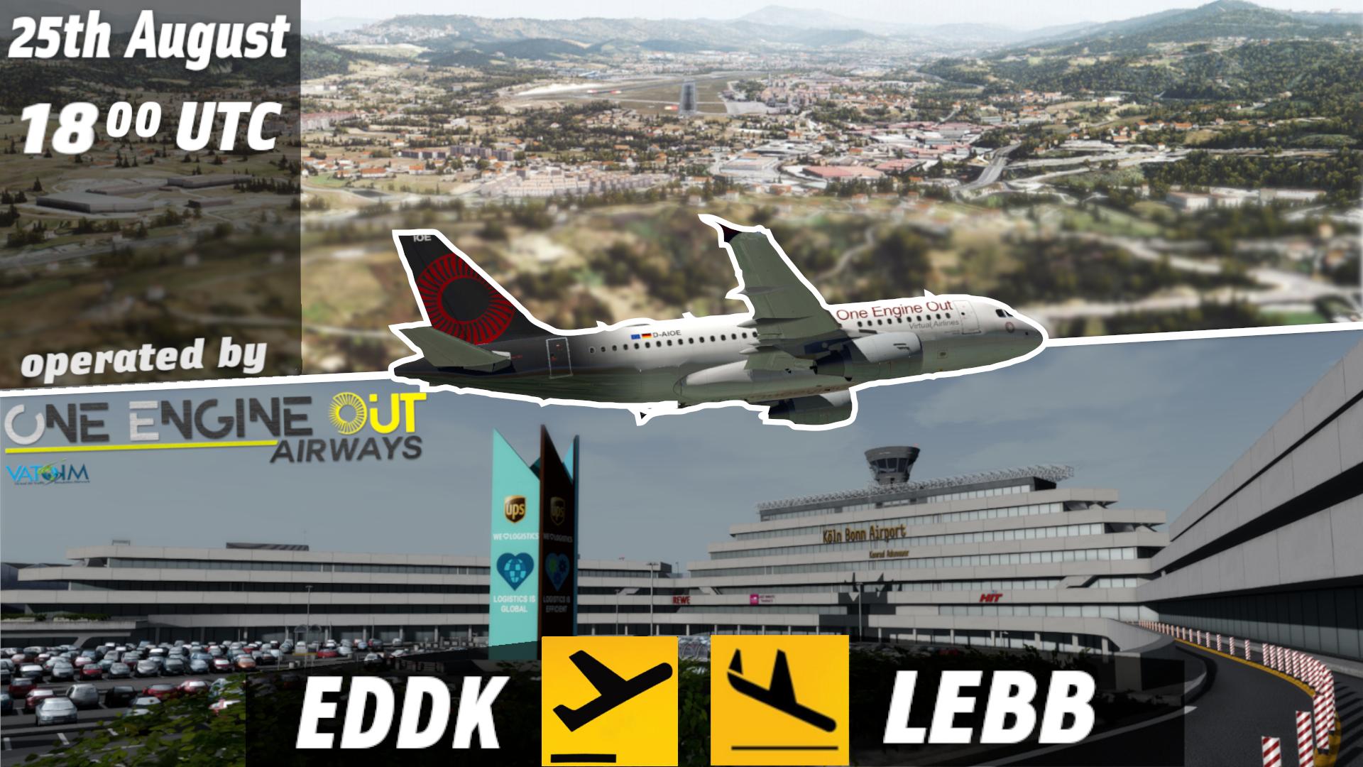 VATSIM EDDK/LEBB Groupflight