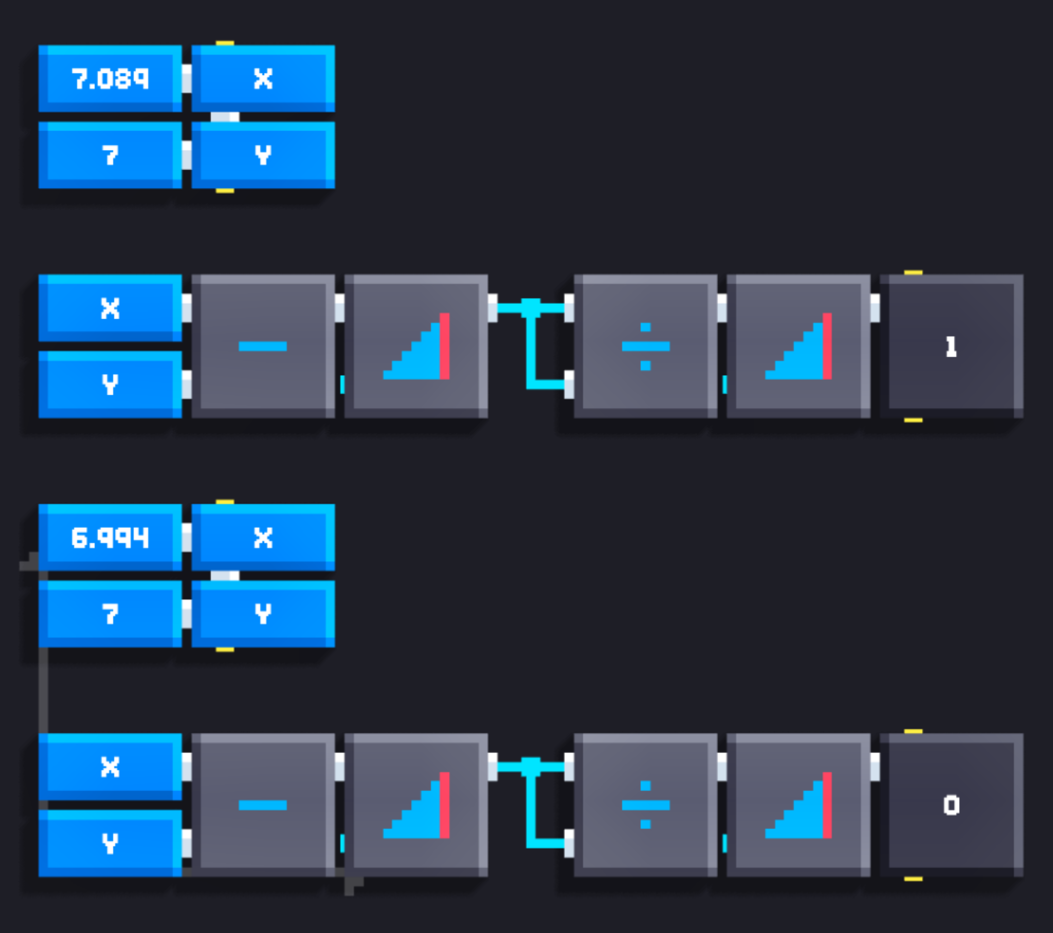 Can I avoid using IF for X greater than Y