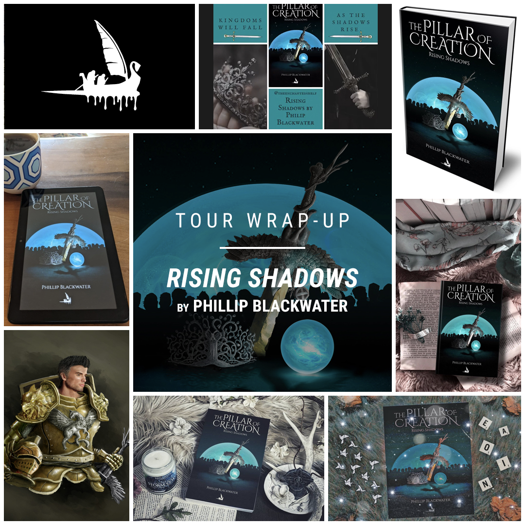 Rising Shadows by Phillip Blackwater IG wrap up
