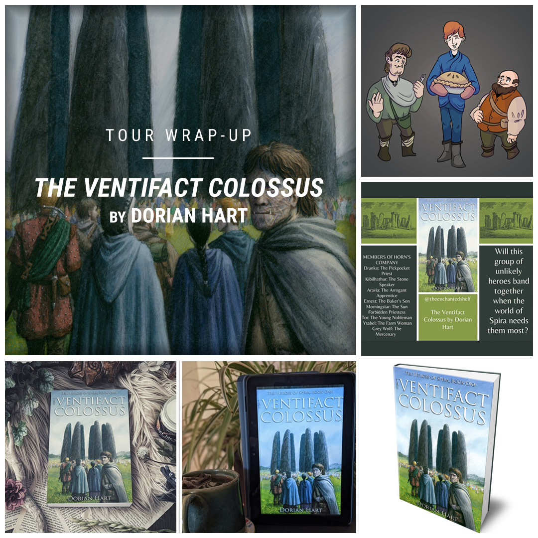 The Ventifact Colossus by Dorian Hart IG wrap up