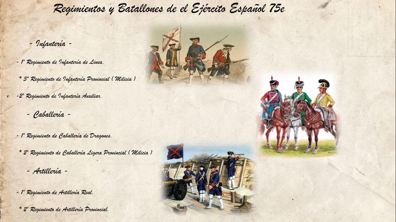 75E EJÉRCITO ESPAÑOL Organizacion_Regimientos_y_Batallones_de_el_Ejercito_Espanol_75e