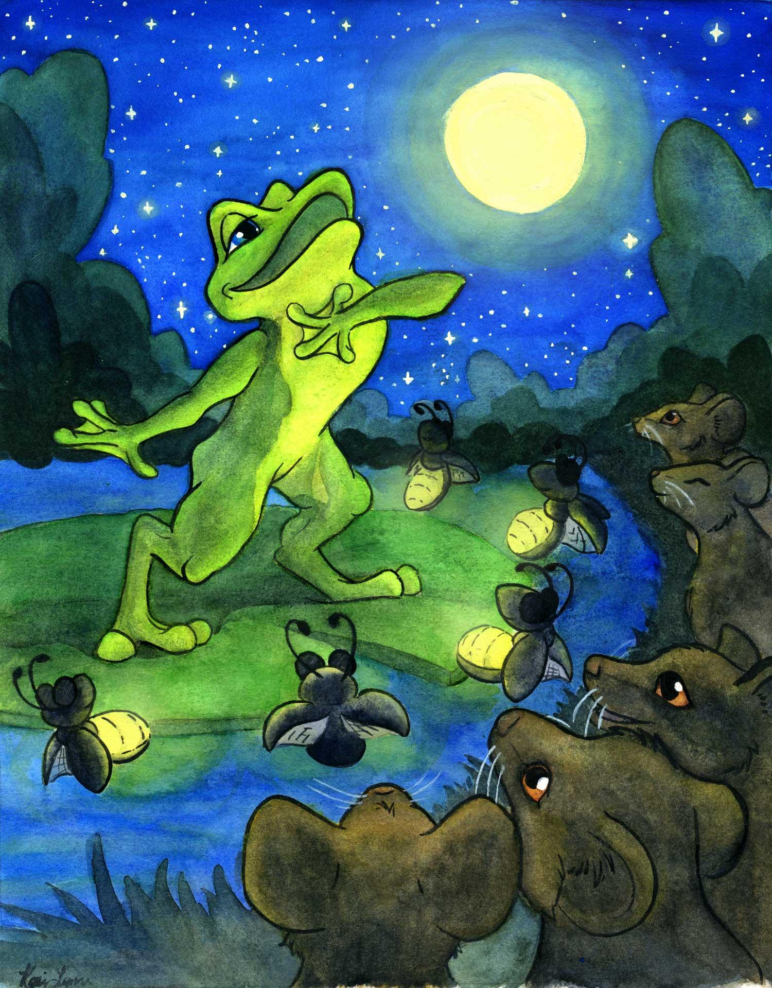 Opera Frog