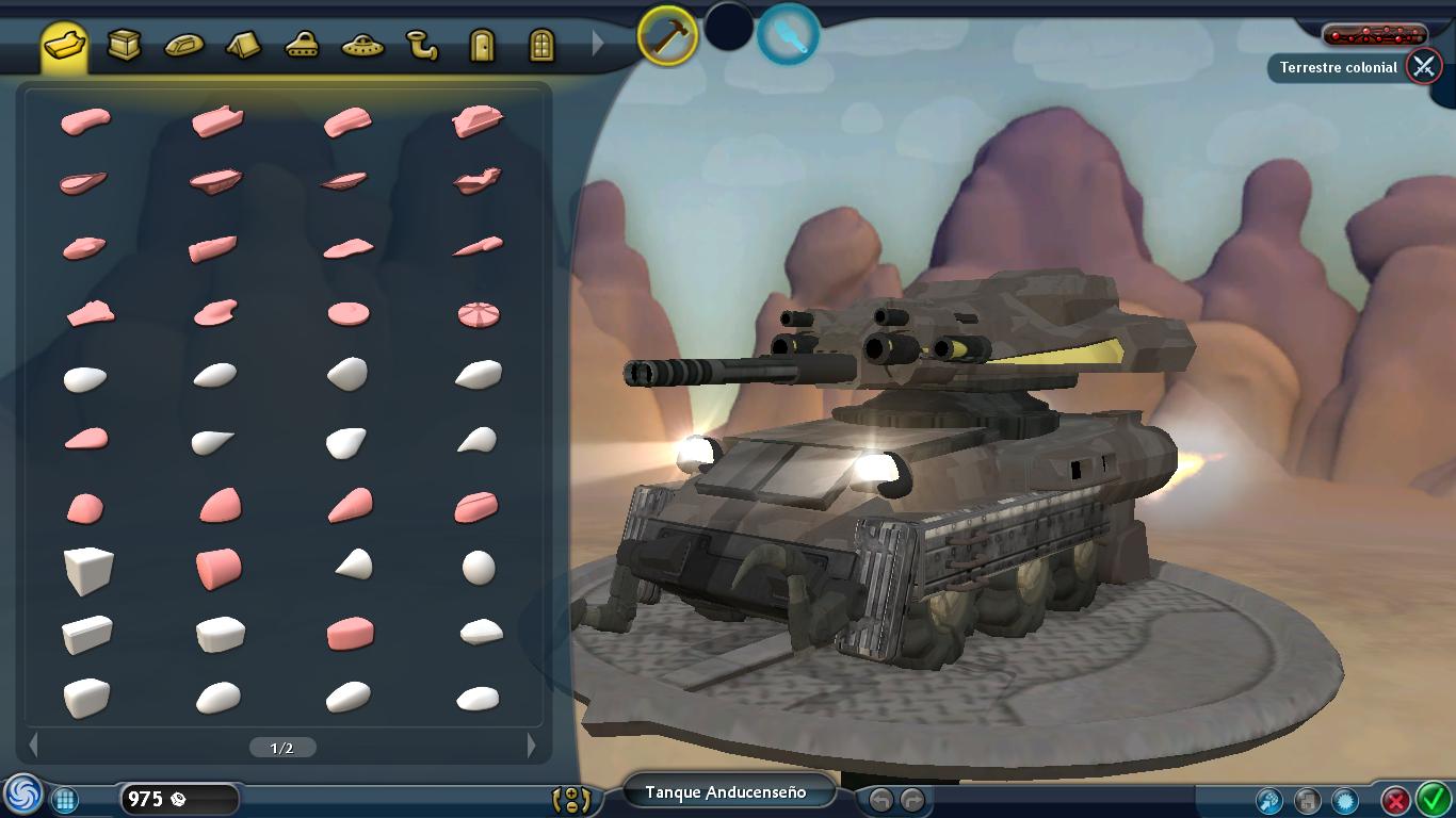 2 Vehículos militares futuristas Uwu3