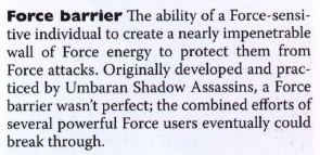Darth Wyyrlok III Respect Thread Disproportionate_Force_barriers