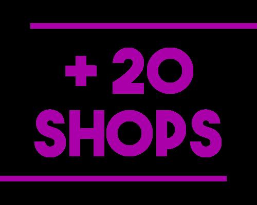 Image d'illustration de l'article + 20 shops