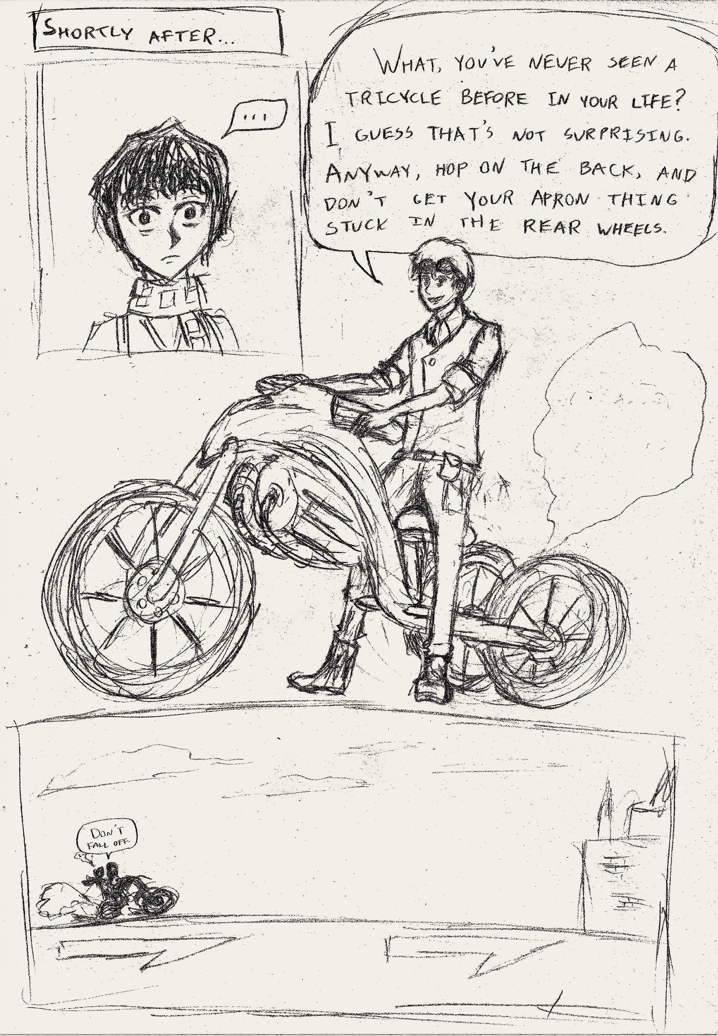 20. Tricycle