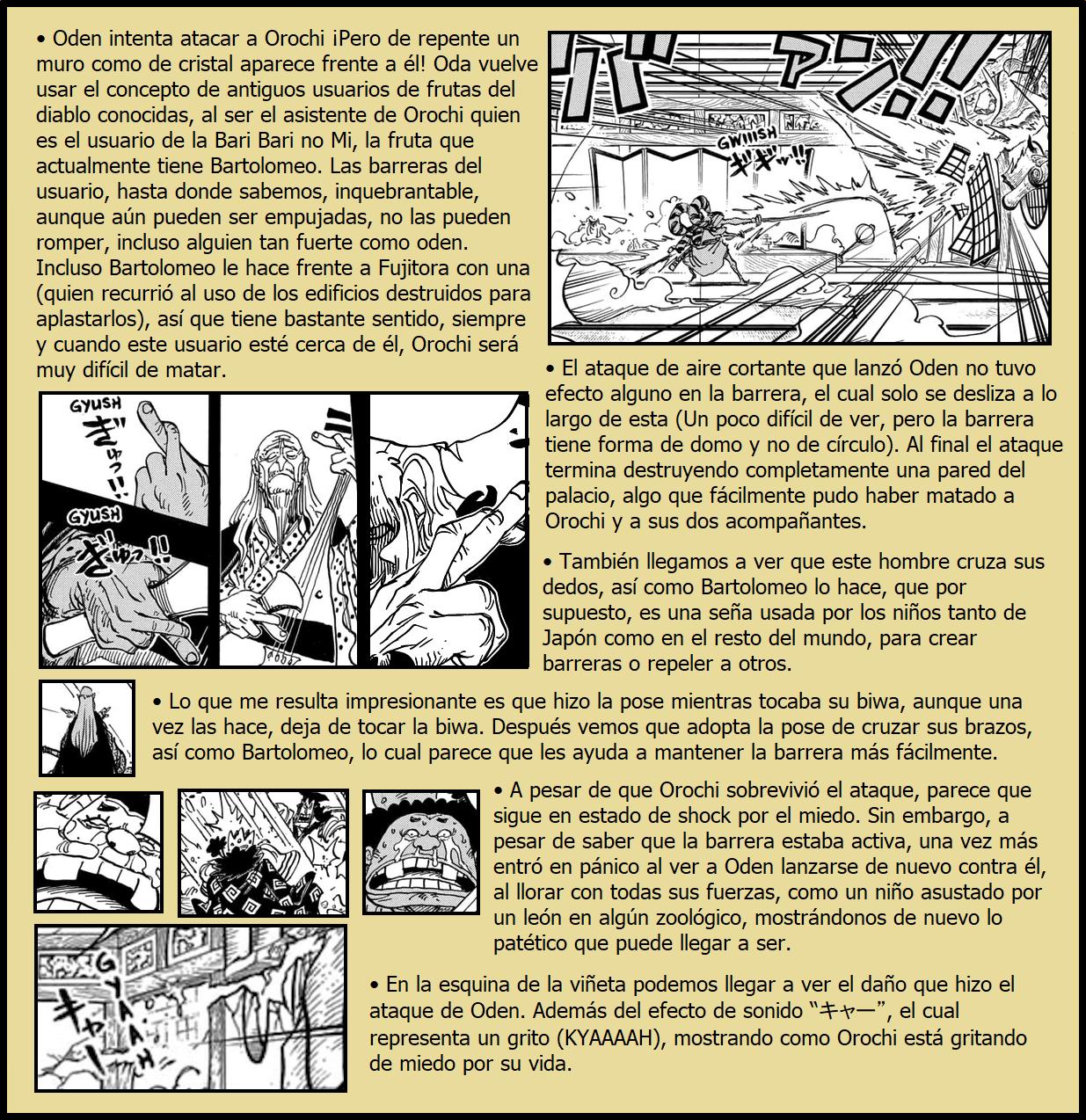 Secretos & Curiosidades - One Piece Manga 969 02