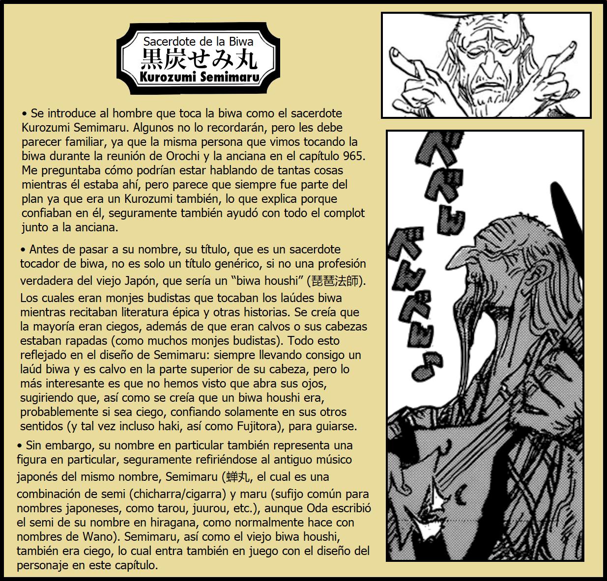 Secretos & Curiosidades - One Piece Manga 969 03
