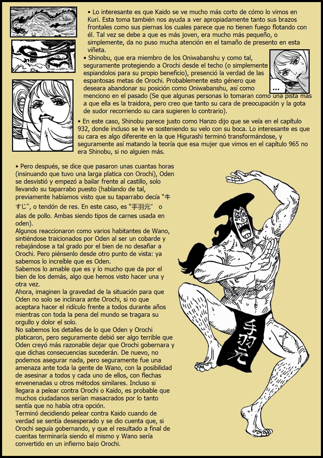 Secretos & Curiosidades - One Piece Manga 969 05