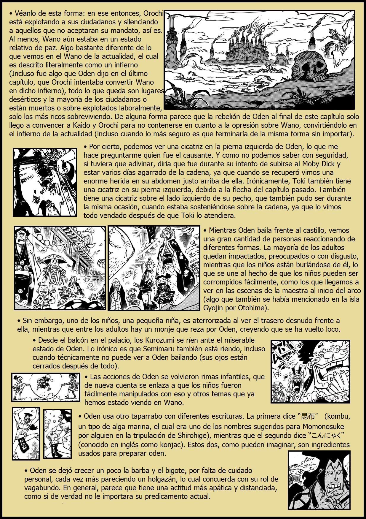 Secretos & Curiosidades - One Piece Manga 969 06