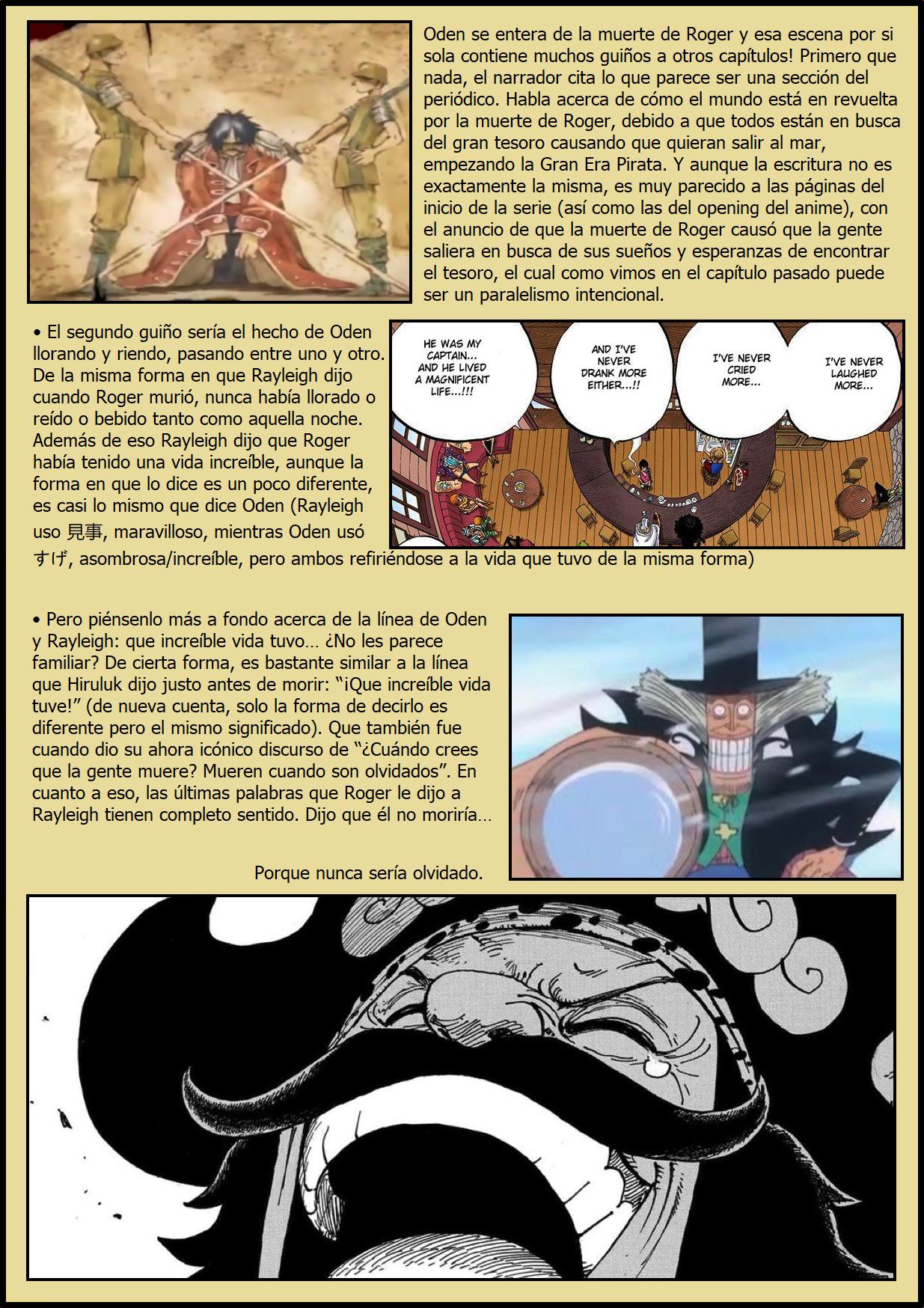Secretos & Curiosidades - One Piece Manga 969 07