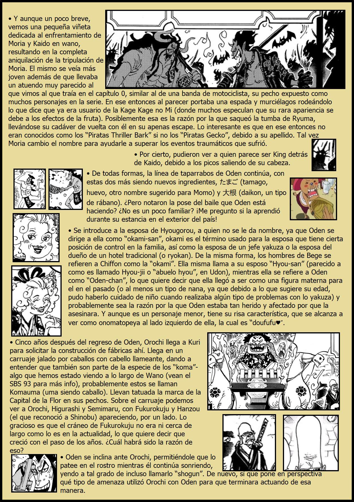 Secretos & Curiosidades - One Piece Manga 969 08