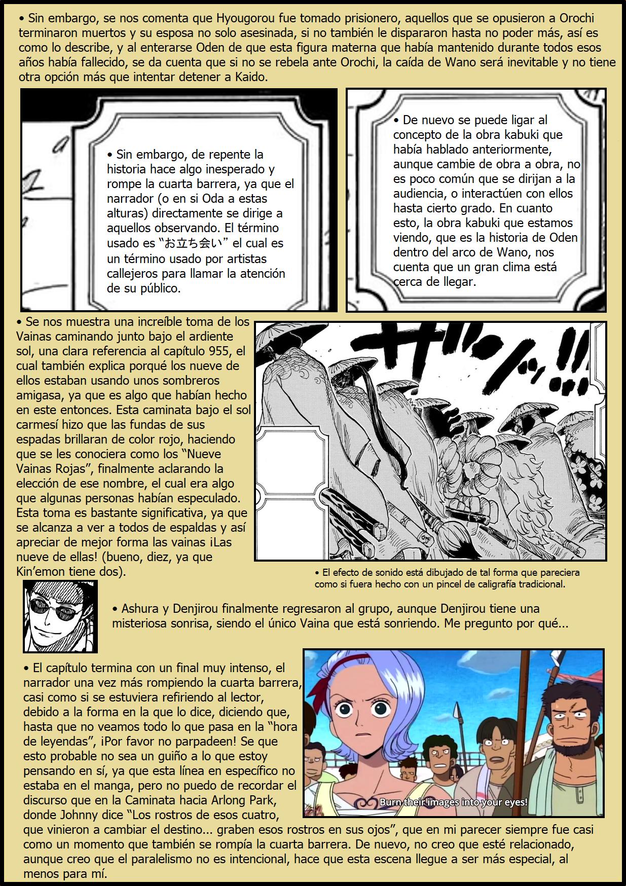 Secretos & Curiosidades - One Piece Manga 969 09