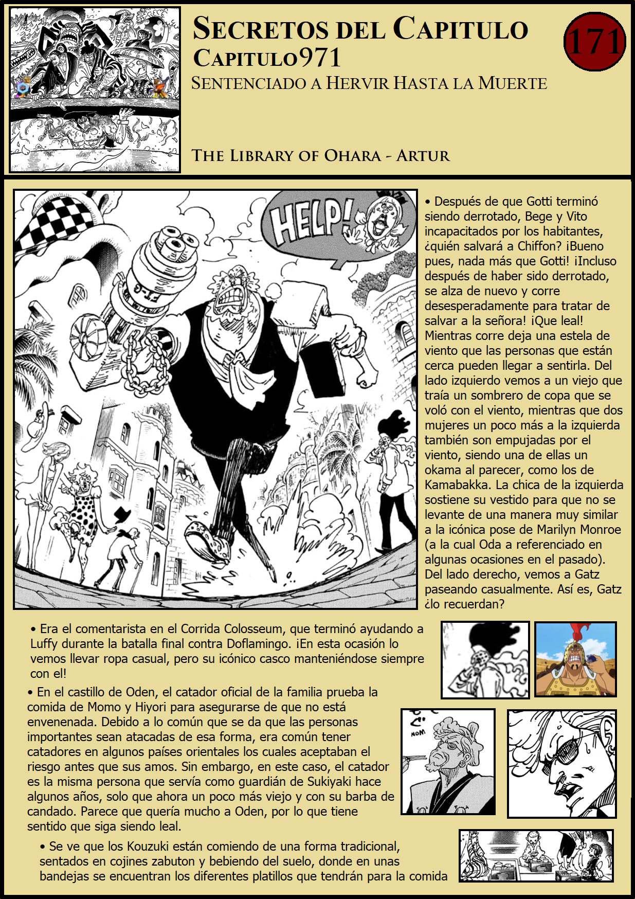 Secretos & Curiosidades - One Piece Manga 971 01