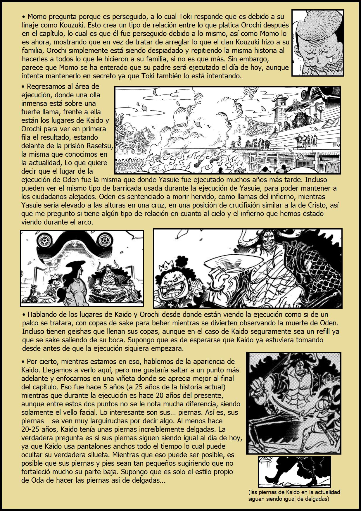 Secretos & Curiosidades - One Piece Manga 971 02