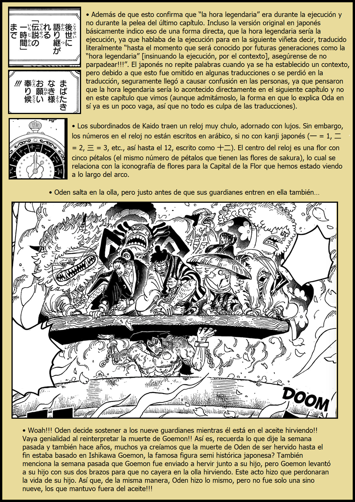 Secretos & Curiosidades - One Piece Manga 971 04