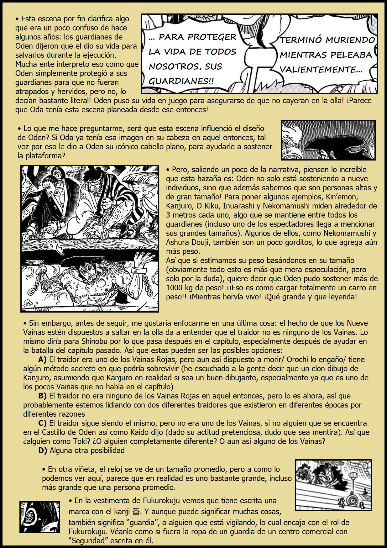 Secretos & Curiosidades - One Piece Manga 971 05