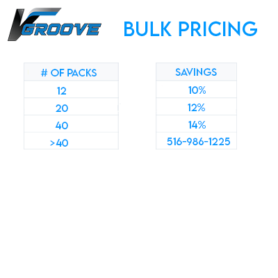 Bulk pricing table 25 pieces
