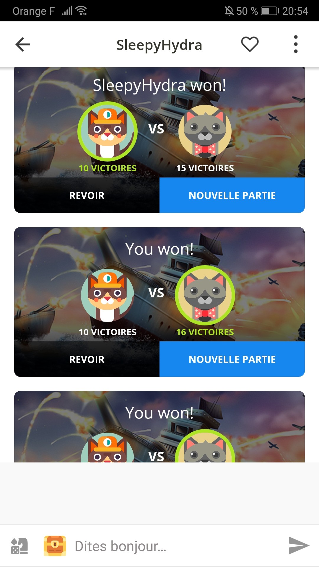 Cat's Eye VS Cat's Gang, l'heure de la révolution a enfin sonné!! Screenshot_20191201_205435_com.plato.android
