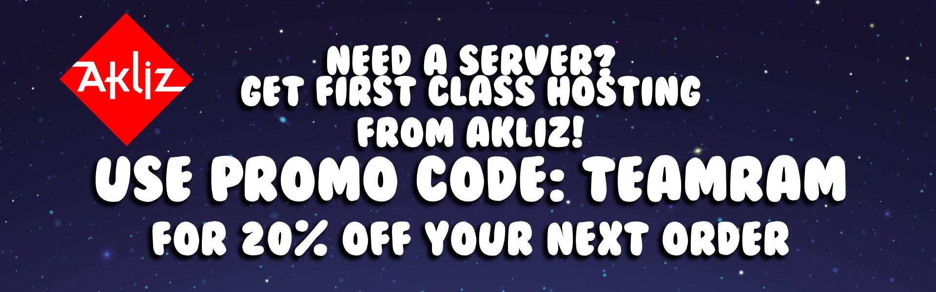 Host A Server!