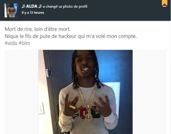 (RAP LOS SANTOS) ALDA, qu'en est-il de lui ? Est-il vraiment MORT ? Unknown