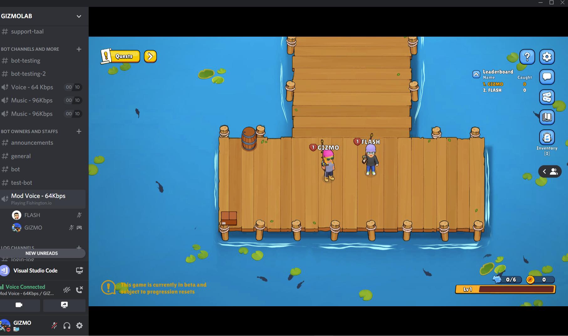 discord fishing game