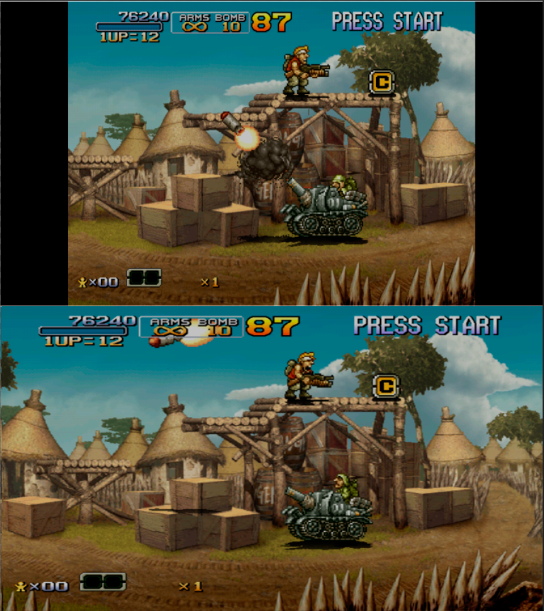 Metal Slug 6 Atomiswave porté sur Dreamcast Unknown