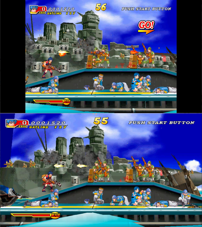 Dolphin Blue Atomiswave porté sur Dreamcast Dol2