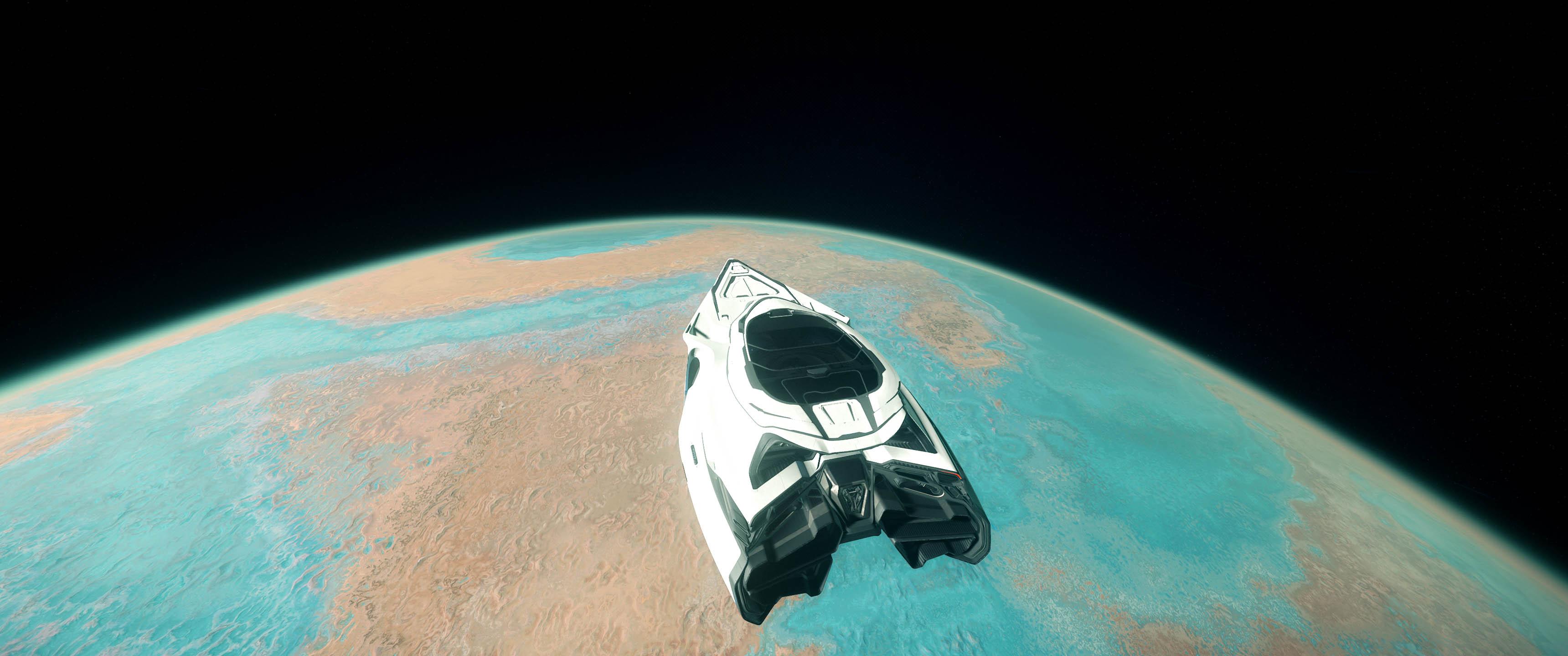 Star Citizen 3.8.0 - 890 Jump over Magda orbiting Hurston