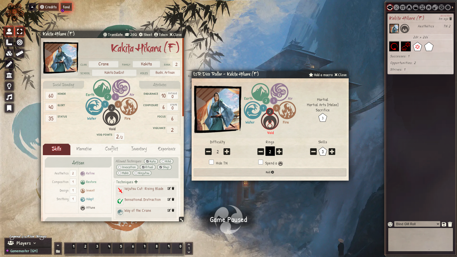 L5r5e Sheet and Roll