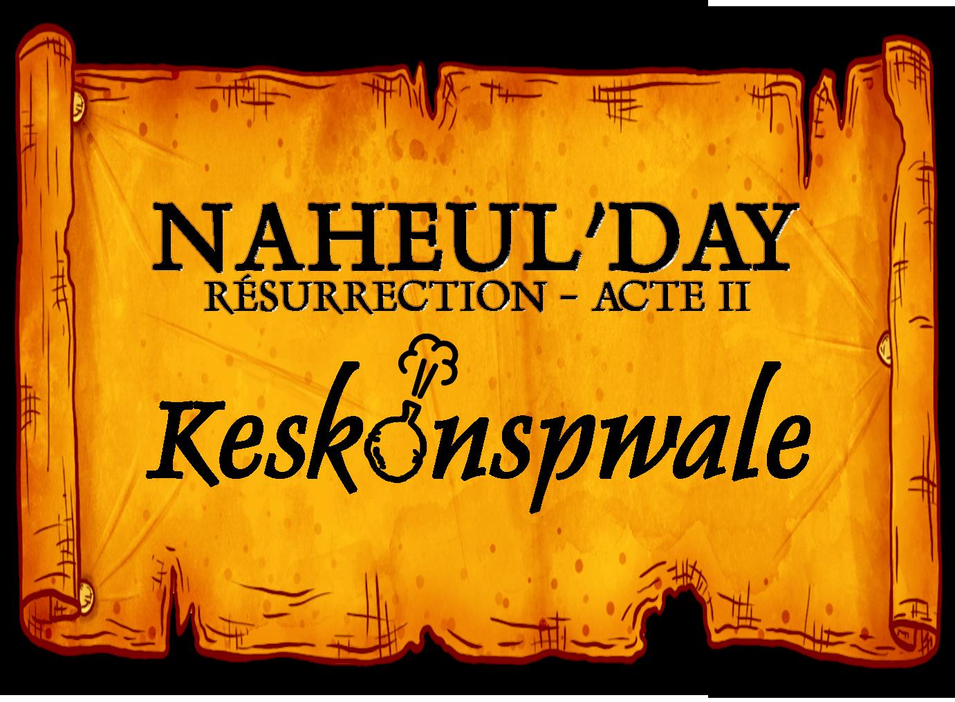 Naheul'day n°18 (1-2-3 Mai) Affiche_KeskonspwaleDay_v2
