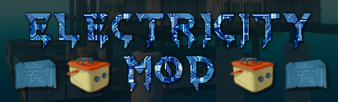 banner image for the Electricity Mod mod