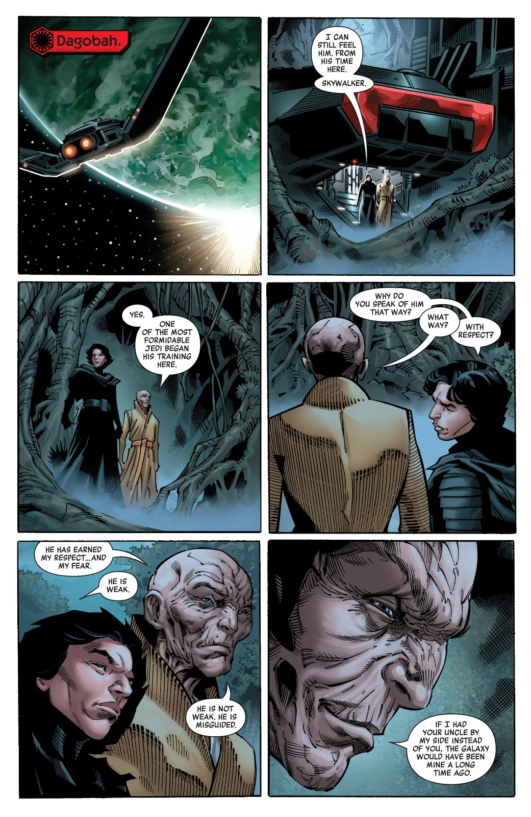 Darth Sidious vs. Snoke, Luke, and Others | How Powerful is Darth Sidious? (Canon) Snoke_sucks_3